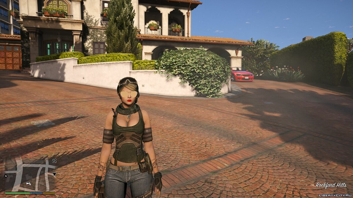 New character AVA Sudden Attack 2   [Add-On / Replace PED] for GTA 5