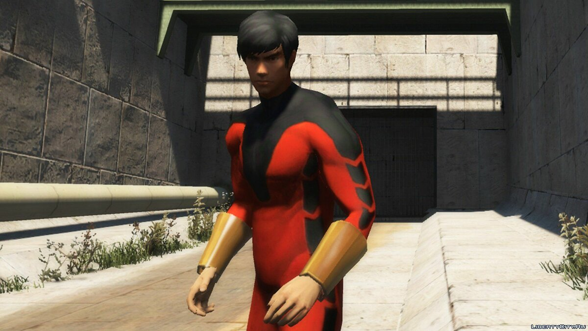 New character Шанг-Чи (Marvel Future Fight) [Add-On Ped] for GTA 5