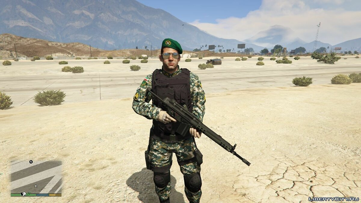 New character Iranian Army Soldier for GTA 5