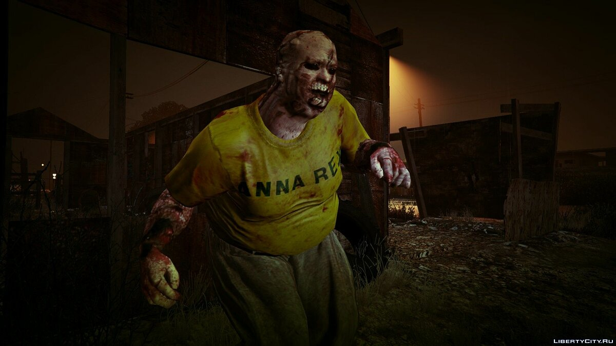New character Fat zombie for GTA 5