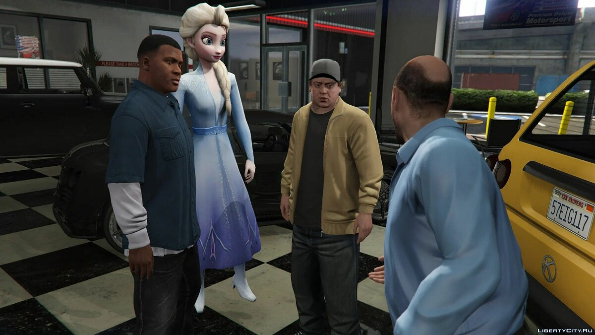 New character Elsa of Arendelle (Frozen II) [Add-On Ped] 0.2 for GTA 5