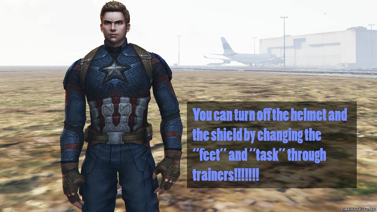 "Captain America from the movie ""The Avengers Finale"" for GTA 5 - screenshot #3"