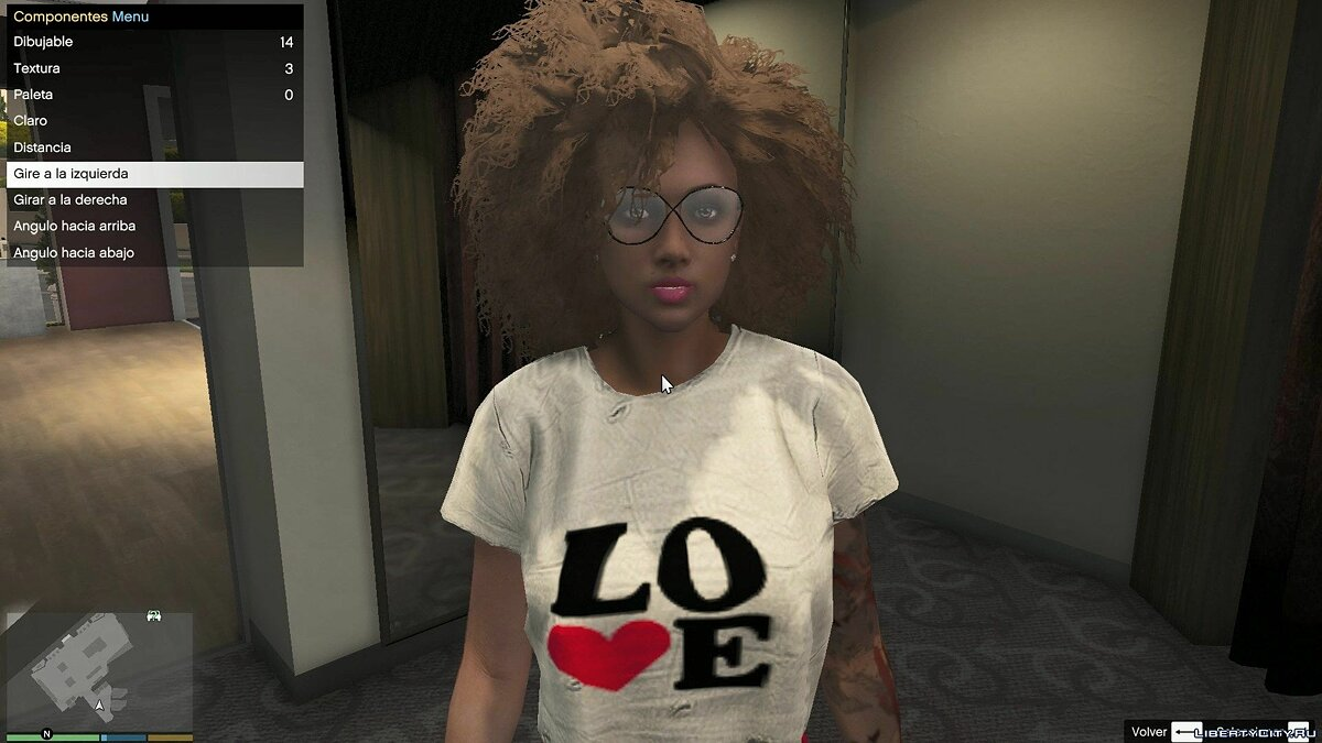 New character Sexy woman with afro for GTA 5