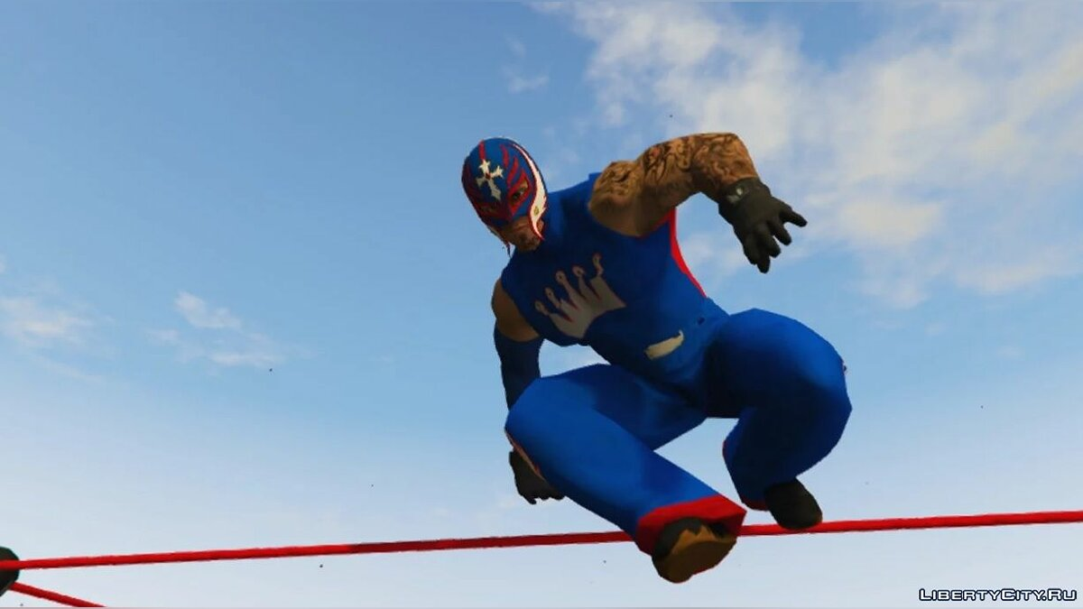 New character Ray Misterio [Add-On] for GTA 5