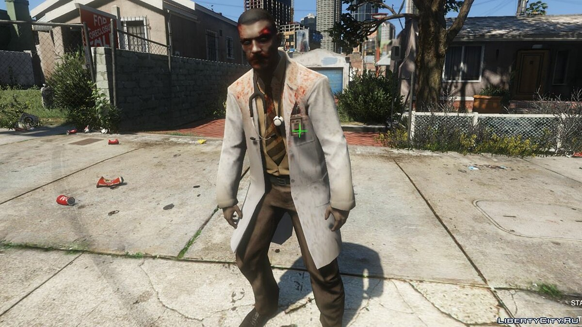 New character Zombie Doctor [Addon] 1.0 - Zombie Doctor for GTA 5