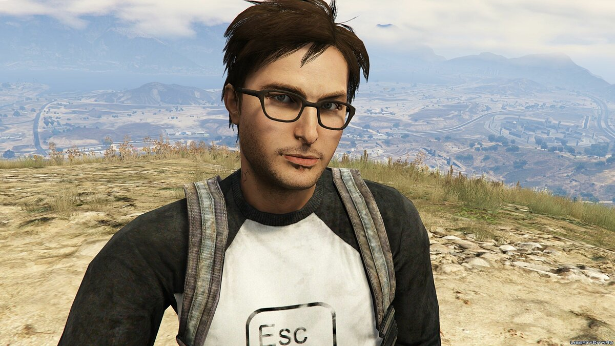 New character Alex Weiss from Tomb Raider 2013 for GTA 5