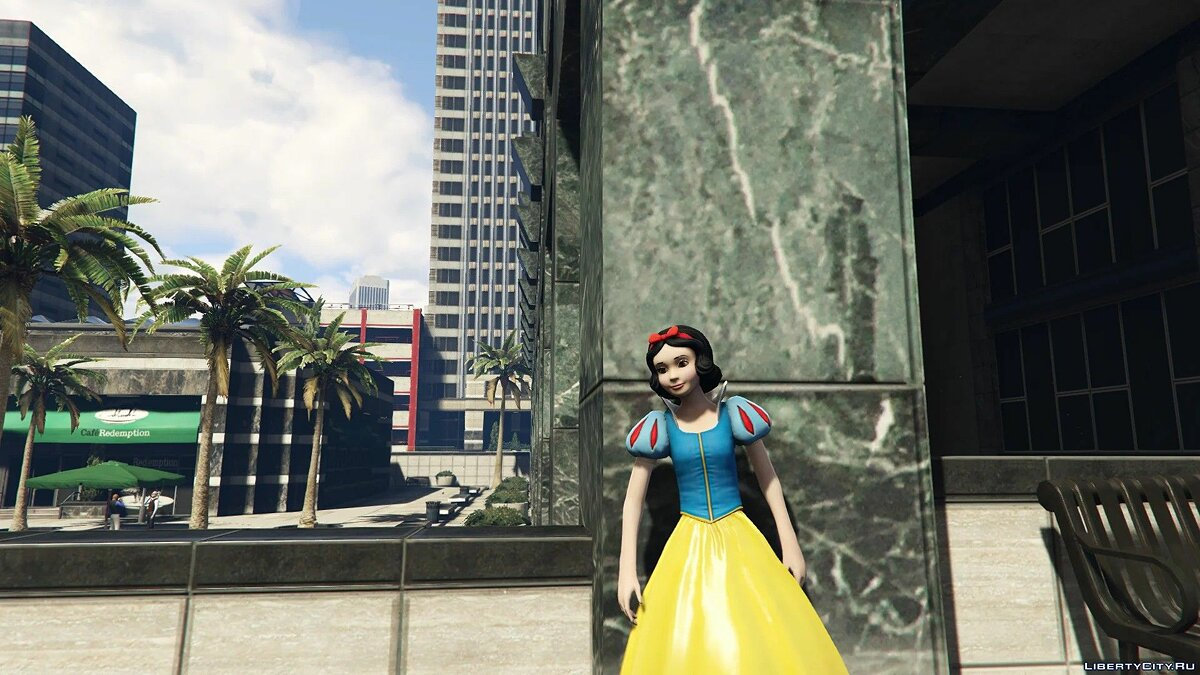 New character Snow White [Add-On Ped] 0.1 for GTA 5