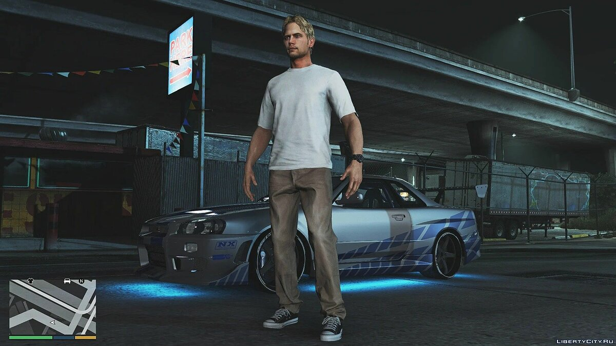 New character Paul Walker [Add-On Ped] 1.0 for GTA 5