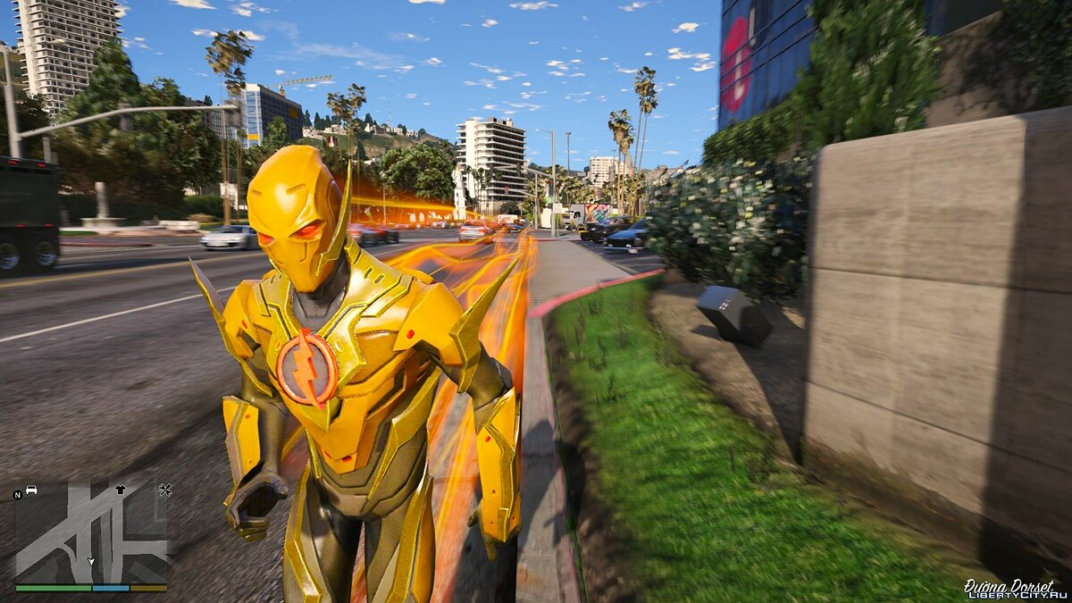 New character Reverse Flash (Legendary) from DC Legends for GTA 5