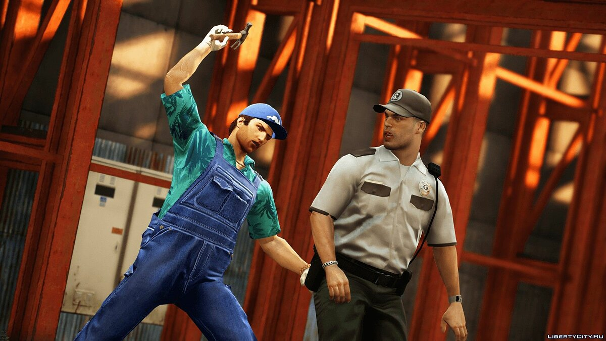 New character Tommy Vercetti for GTA 5