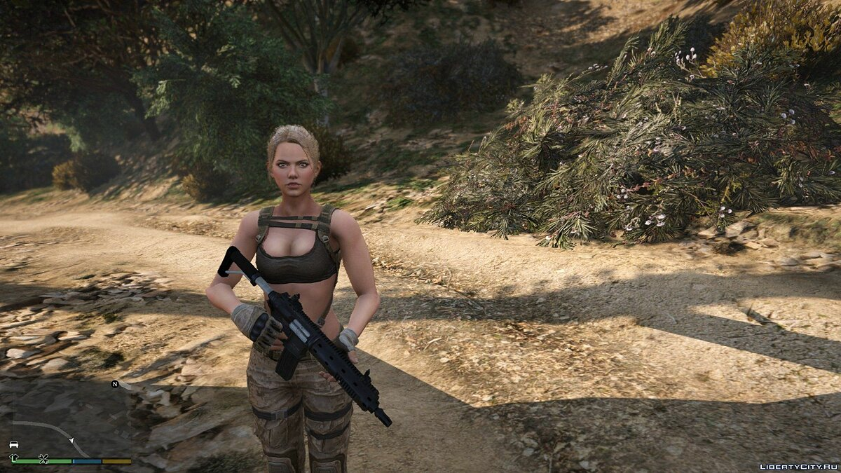 New character Leona from Sudden Attack 2 | [Add-On / Replace PED] 1.0 for GTA 5