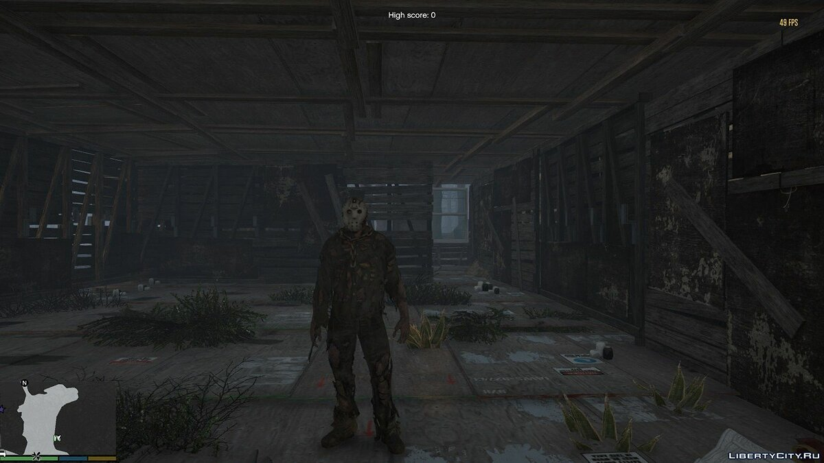 New character Jason Voorhees from the movie