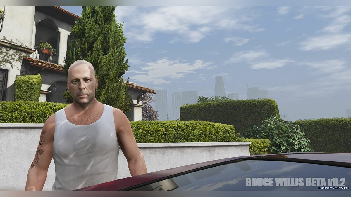 New character Bruce Willis [REPLACE] BETA v0.2 - Bruce Willis for GTA 5