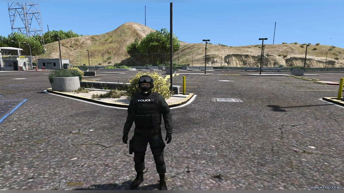 New character Наряд GIGN for GTA 5