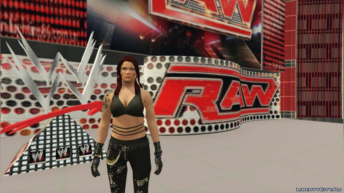 New character WWE-Lita [Add-On] for GTA 5