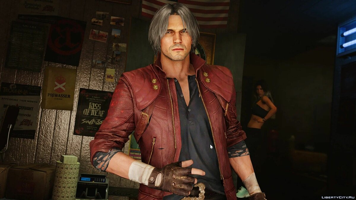 New character Dante from Devil May Cry 5 for GTA 5