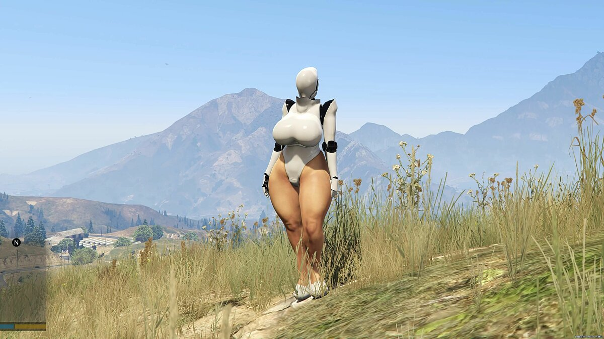 New character Haydee [Add-On Ped] 1.0 for GTA 5