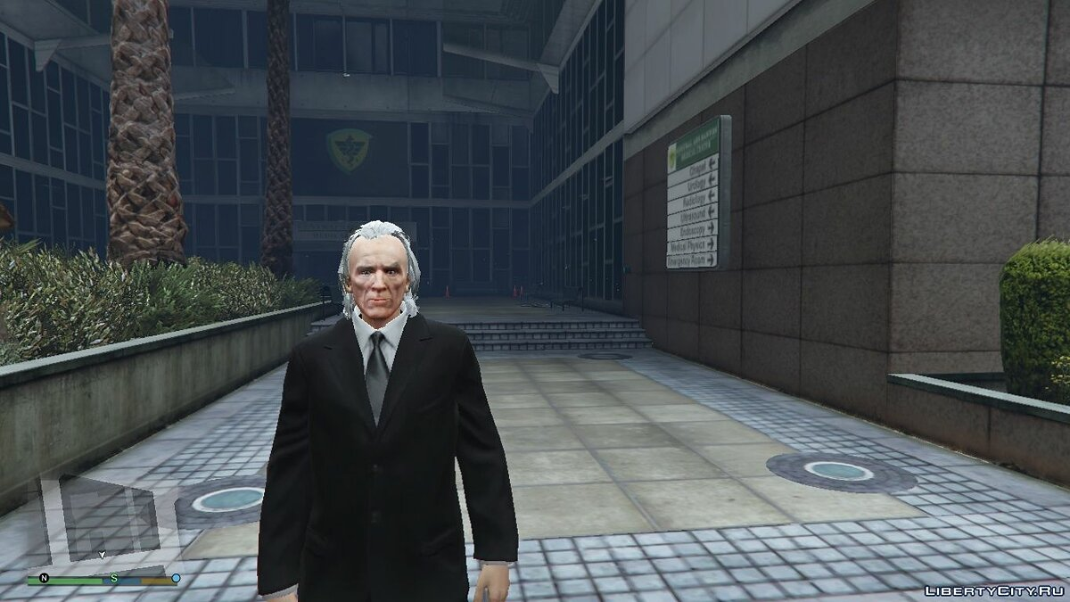 New character The Tall Man [Add-On Ped] 1.0 for GTA 5