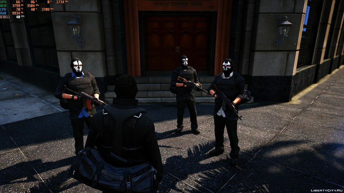New character Robbers for GTA 5 for GTA 5