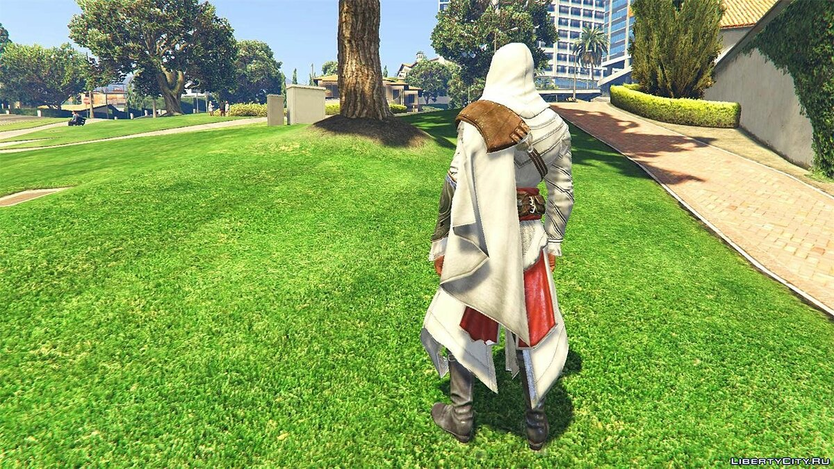 New character ACU Ezio Outfit [Add-On Ped] 1.0 for GTA 5