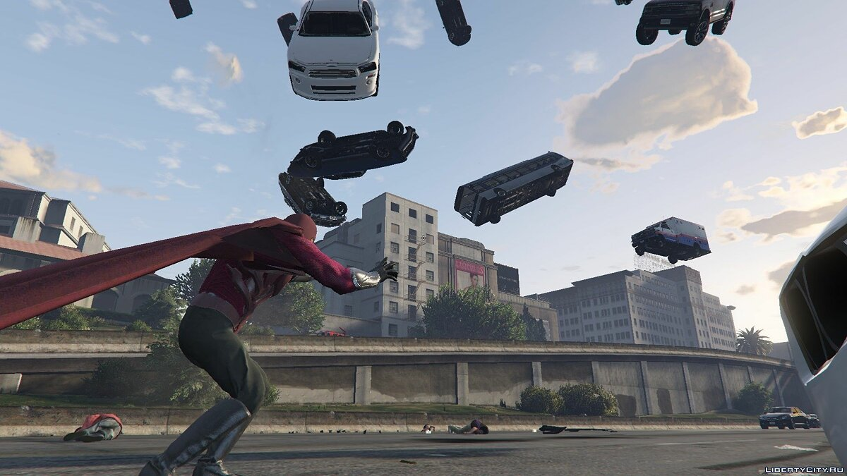 New character Magneto Days of Future Past [Add-On Ped] 1.0 for GTA 5