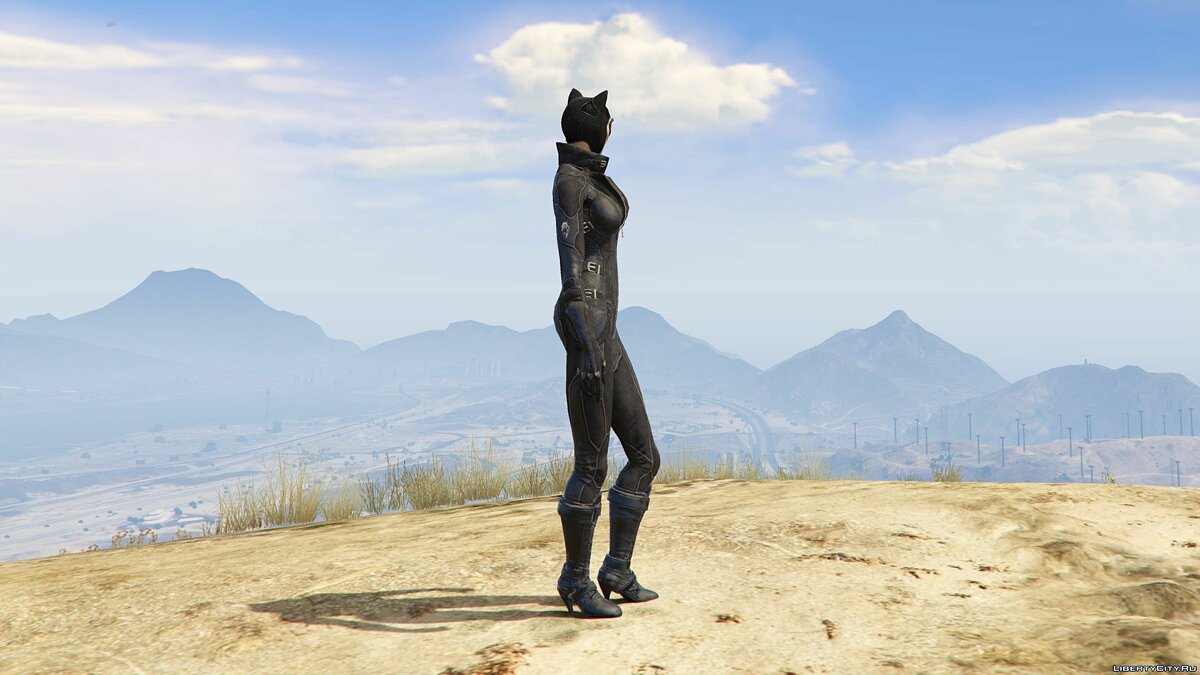 New character Arkham City Catwoman [Add-on Ped] 1.0 for GTA 5