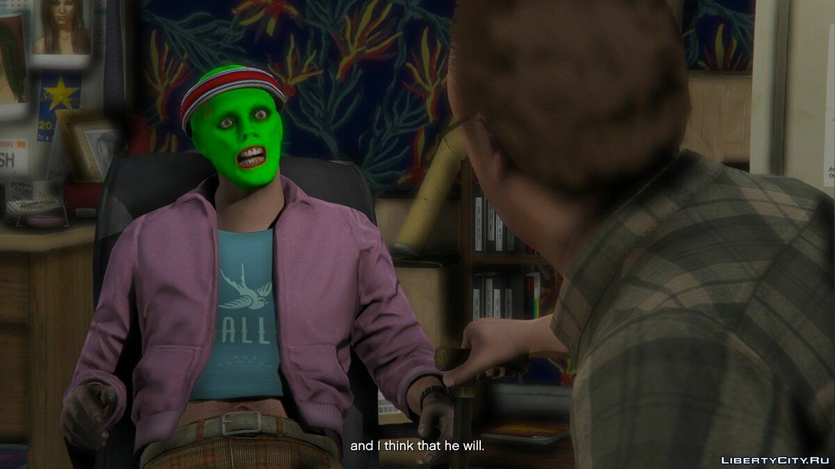 New character The Mask Jim Carrey (1994) [Add-On Ped] V.4 for GTA 5