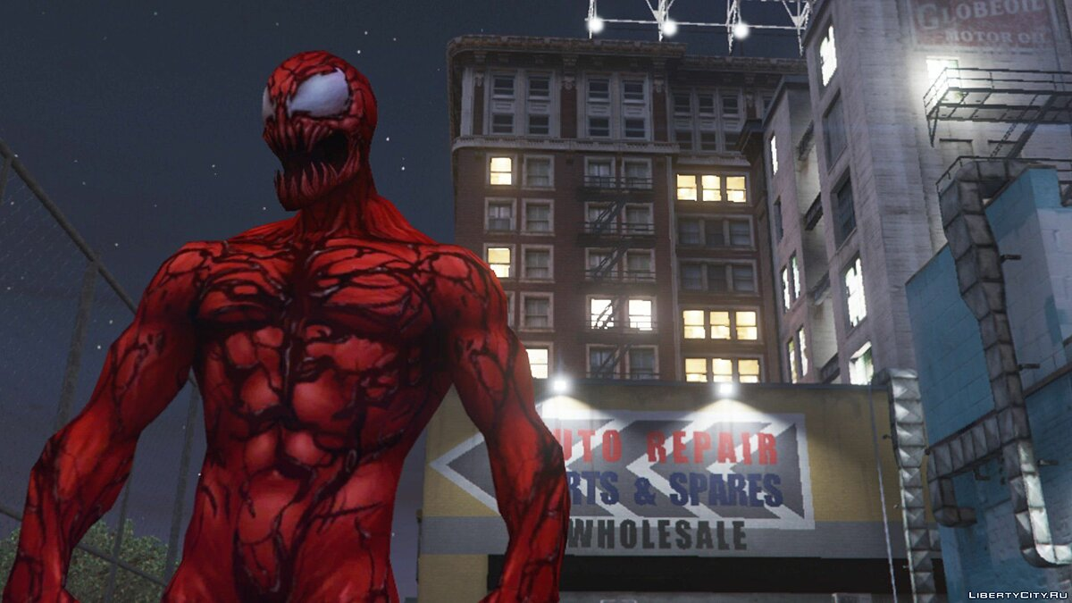 New character Carnage (Marvel Future Fight) [ADD-ON] 2.0 for GTA 5