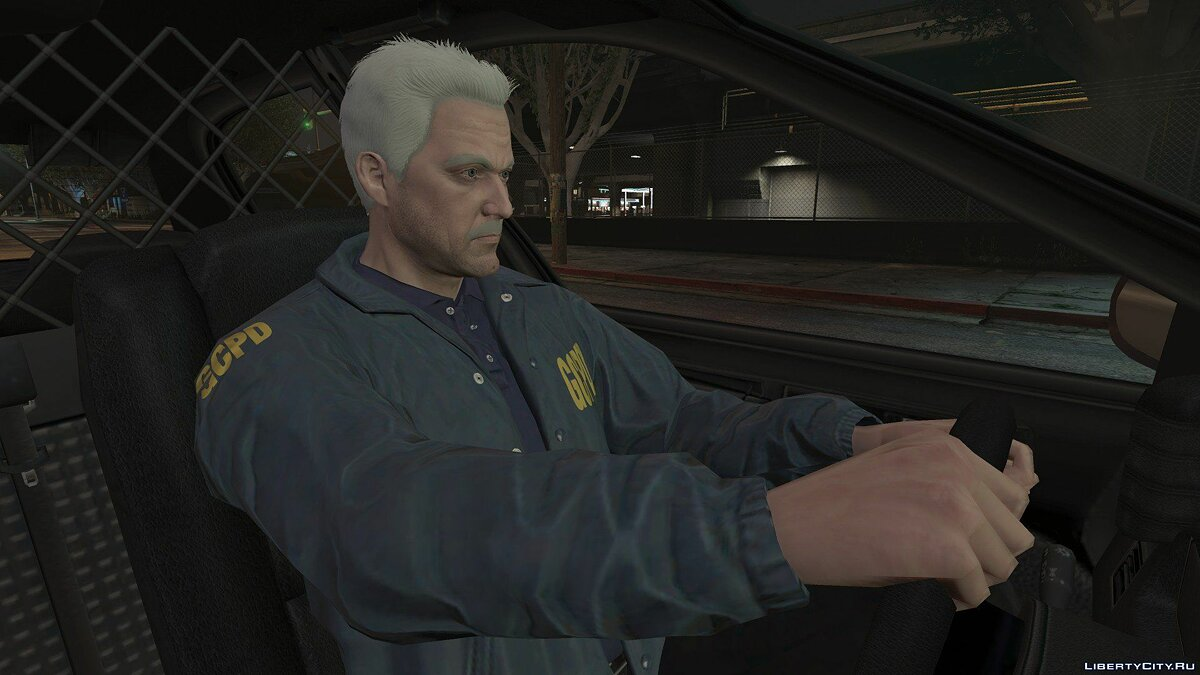 New character Jim Gordon (Arkham Knight-Style) [Add-On / Replace] 1.0 for GTA 5