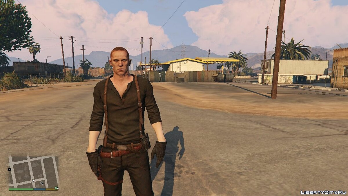 New character Jake Muller [Add-On Ped] 2.0 for GTA 5