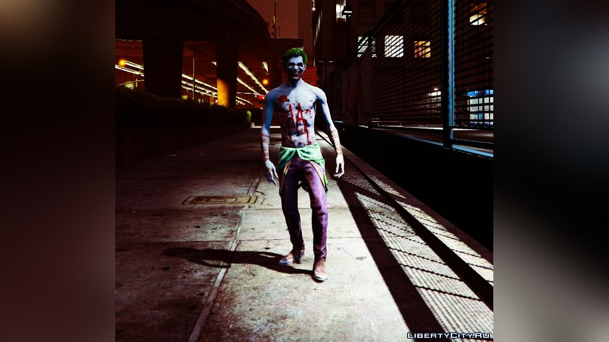 New character Joker from Injustice 2 [Add-On Ped] 1.0 for GTA 5