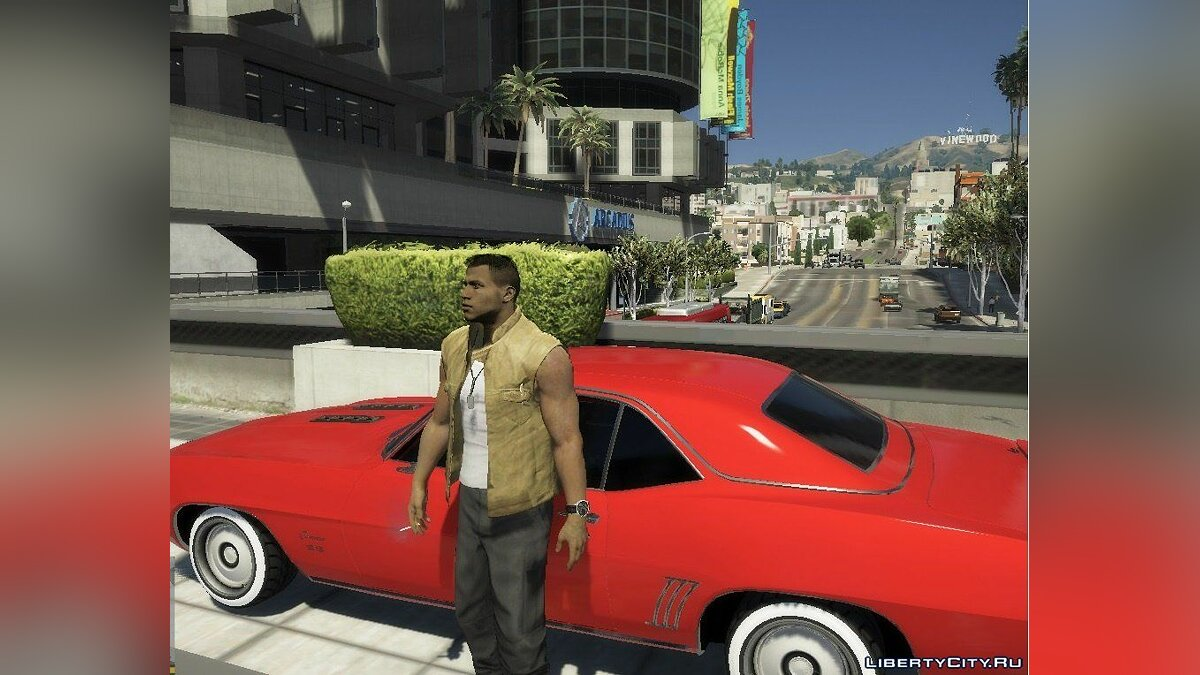 New character Lincoln Clay from Mafia 3 for GTA 5