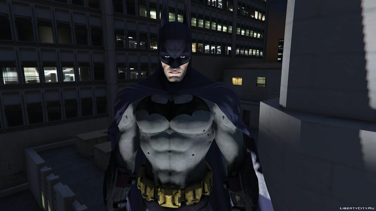New character Batman from the game Batman: Arkham City for GTA 5