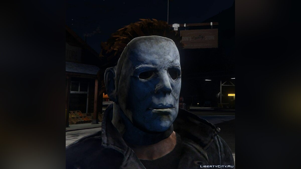 New character Michael Myers from the 2018 Halloween movie for GTA 5