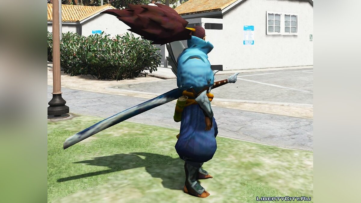 New character YASUO League of Legends [Add-On Ped] 2.0 - Yasuo from League of Legends for GTA 5