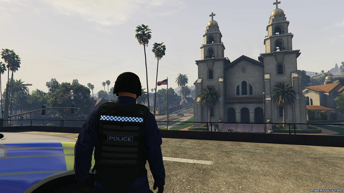 New character British Police Officer, (AFO) - British Police Officer for GTA 5