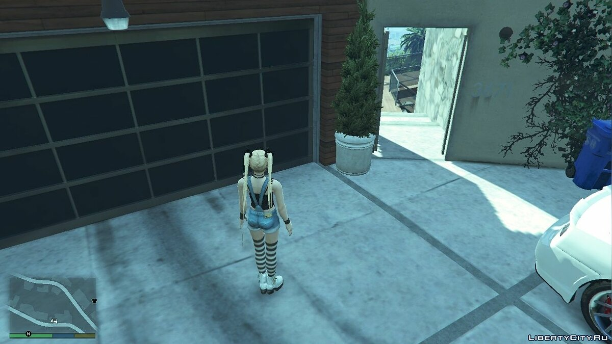 New character Mary Rose in casual wear for GTA 5