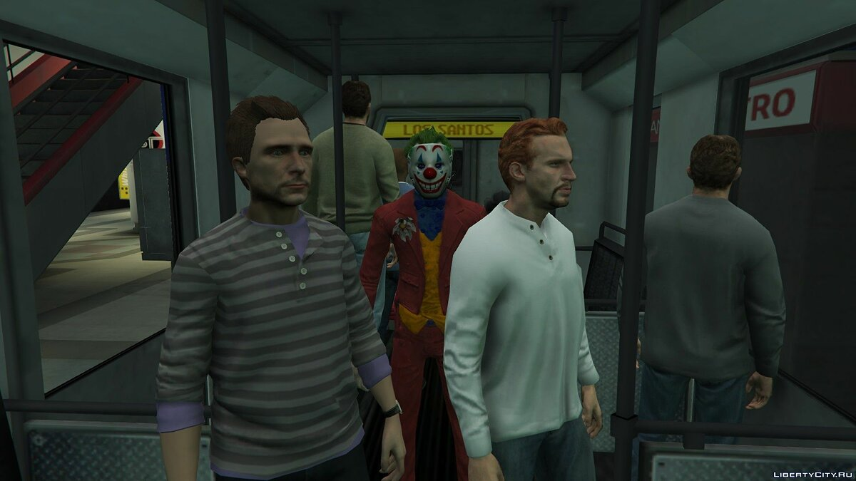 New character Джокеры for GTA 5