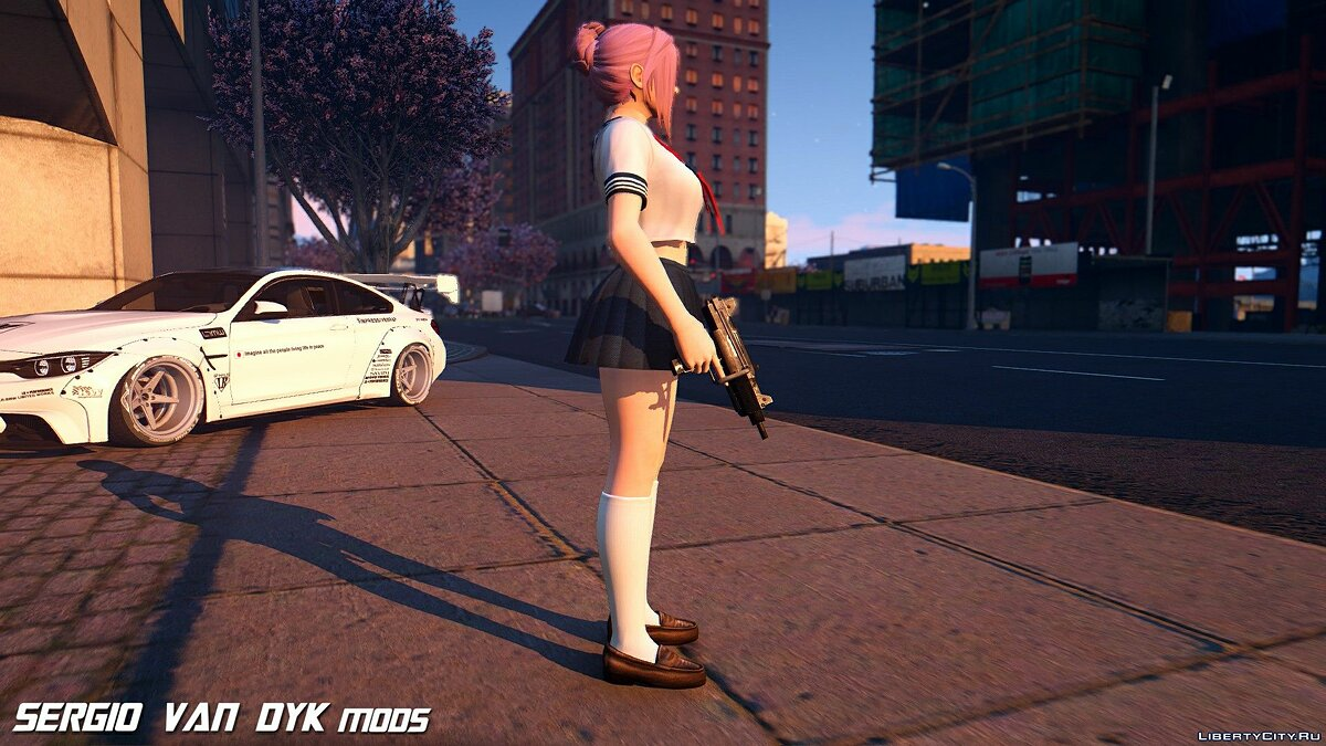 New character Elise Sailor School from Dead or Alive Xtreme Venus Vacation for GTA 5