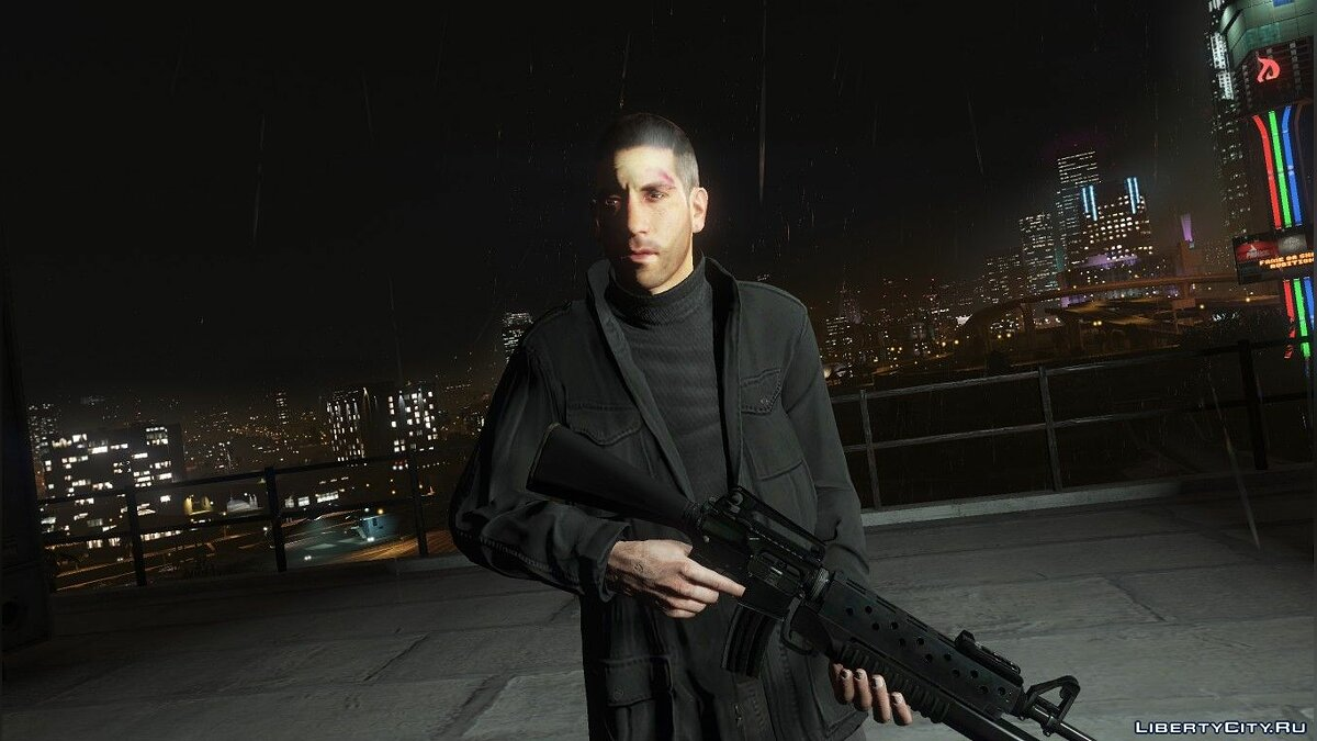 New character Frank Castle for GTA 5