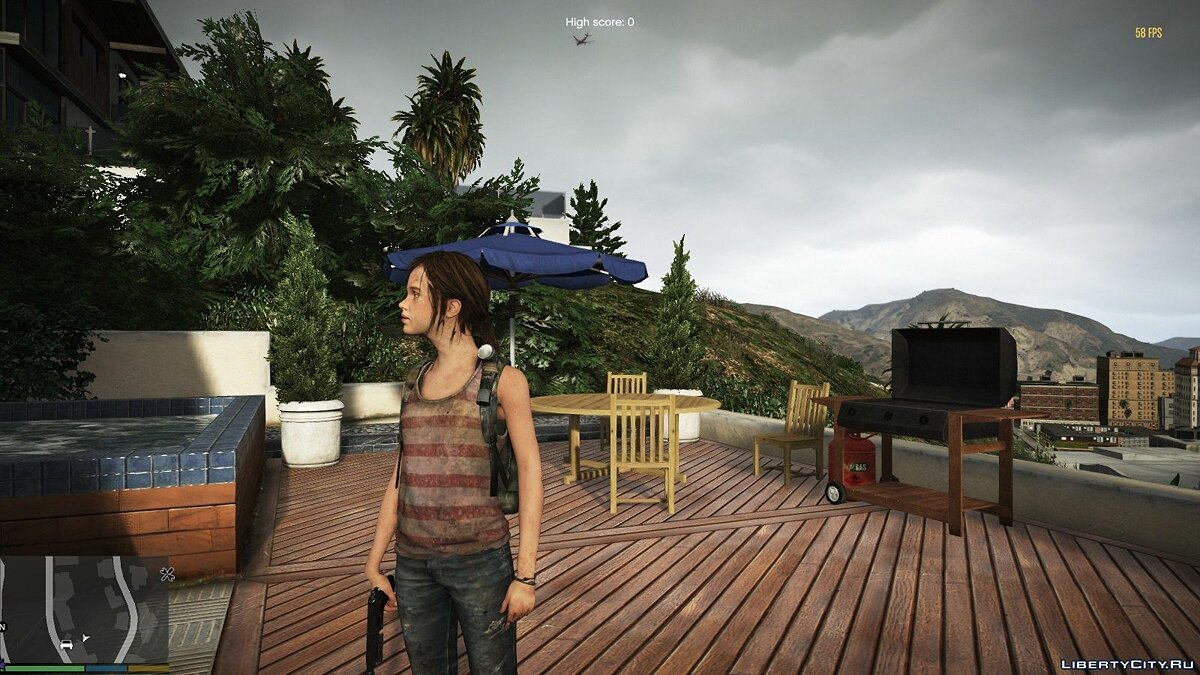 New character Ally from the game