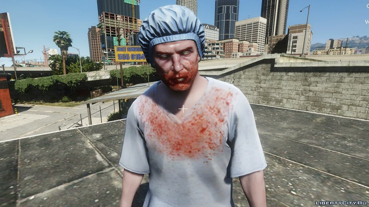 New character Morgue Zombie [Addon] 1.0 - Zombies from the Morgue for GTA 5