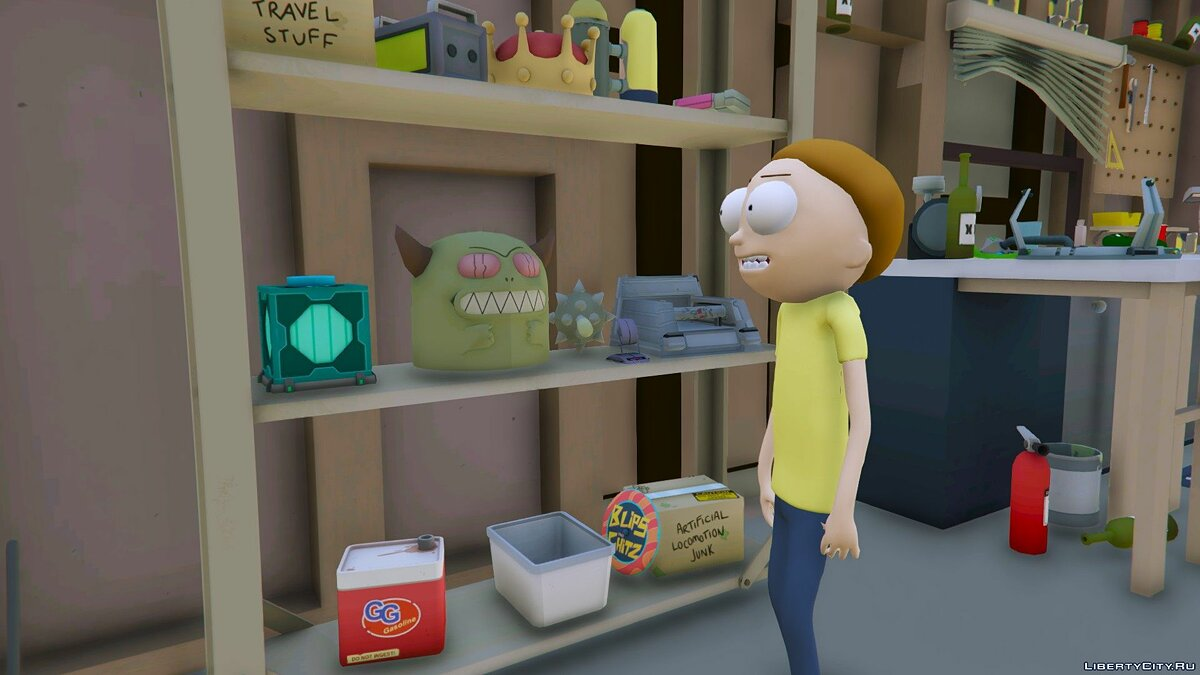 New character Morty Smith (Rick and Morty) [Add-On] 1.1 for GTA 5