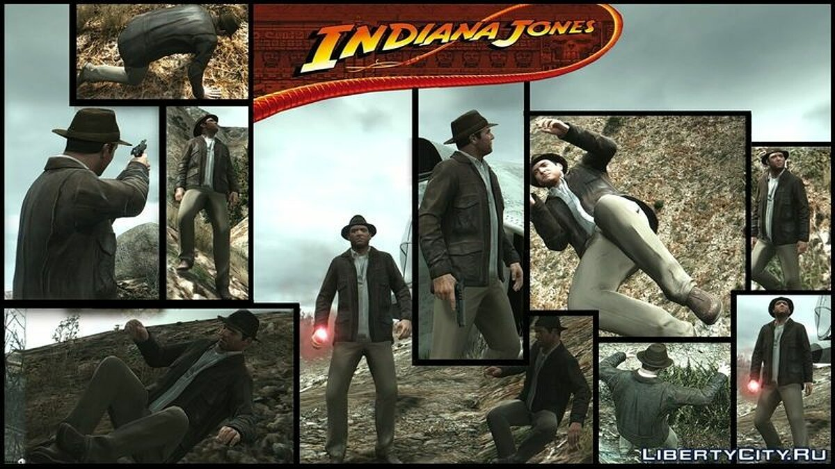 Indiana Jones for GTA 5 - Картинка #1