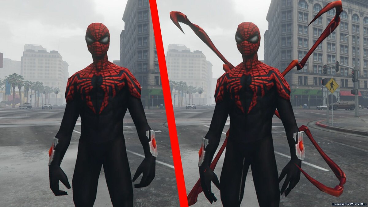 New character The Superior Spider-Man [Doctor Octavius] 1.1 for GTA 5