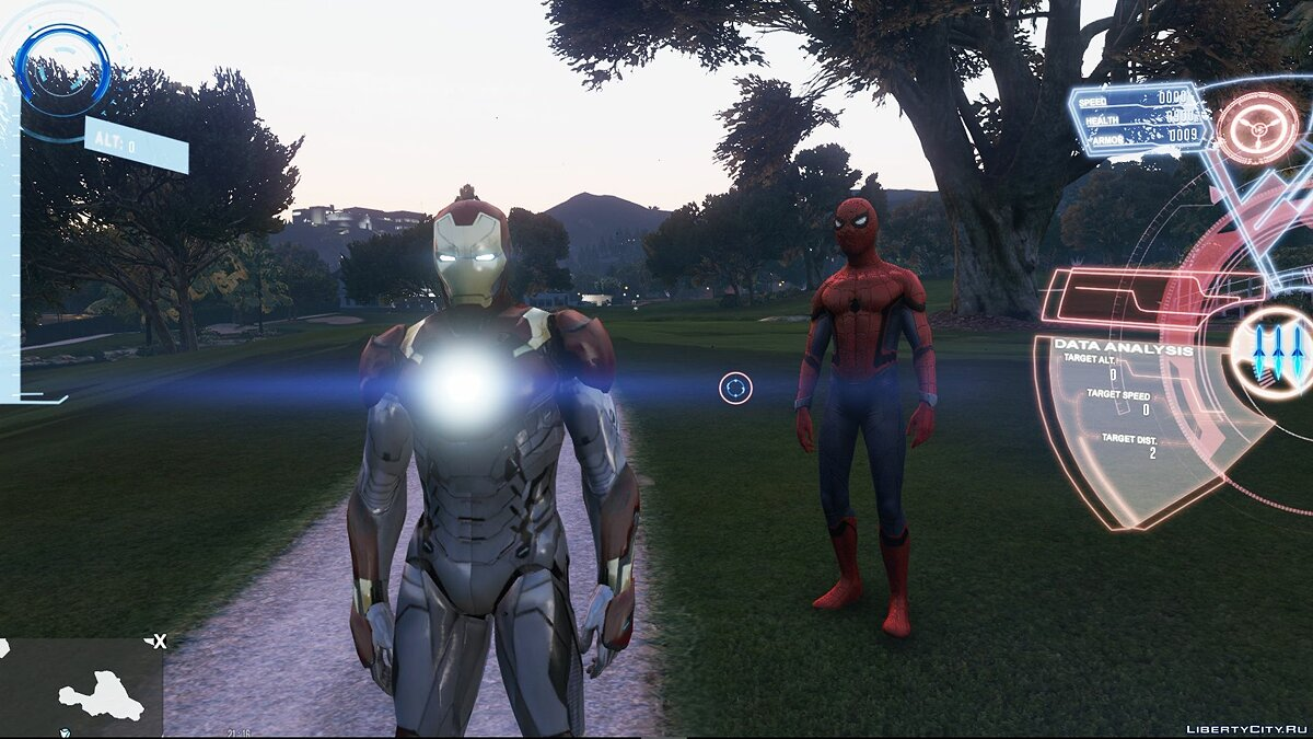 New character Iron Man Mark 47 (Spider-man Home Coming) [Add-On Ped] 1.3 for GTA 5
