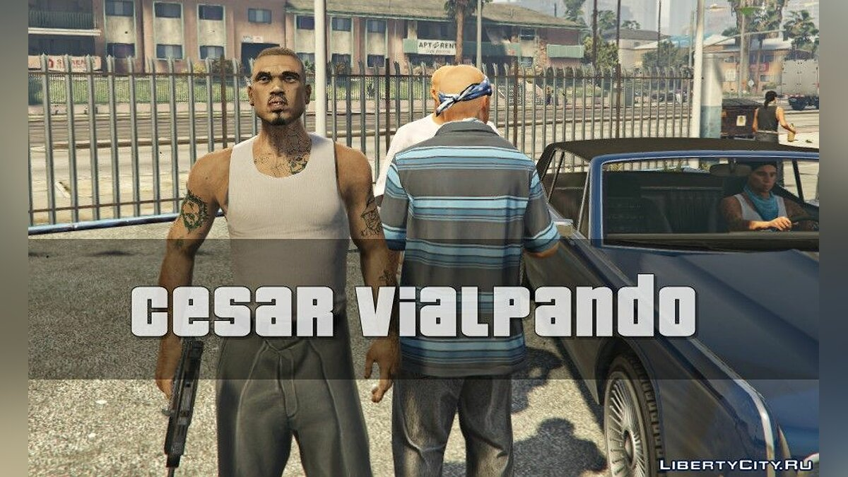 Cesar VialpandoHD (Remake) GTA SA FINAL for GTA 5