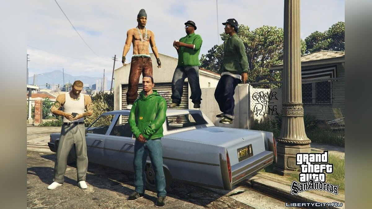 Cesar VialpandoHD (Remake) GTA SA FINAL for GTA 5 - screenshot #3