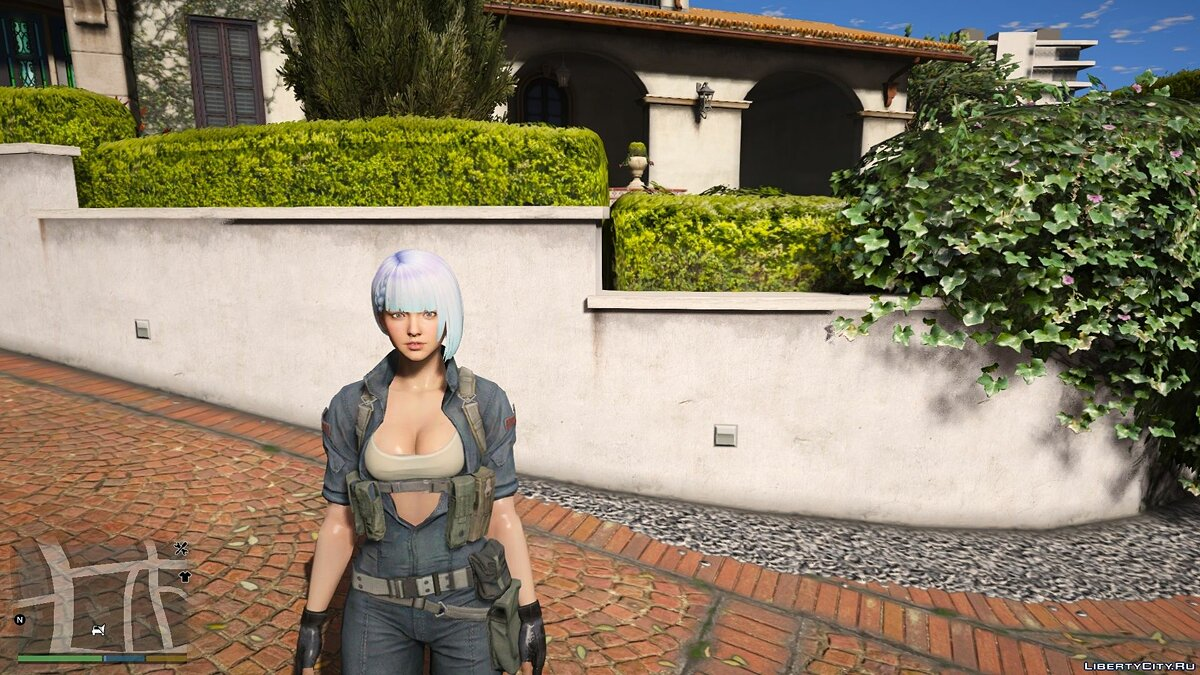 New character Hanna Sudden Attack 2   [Add-On / Replace PED] 1.0 for GTA 5