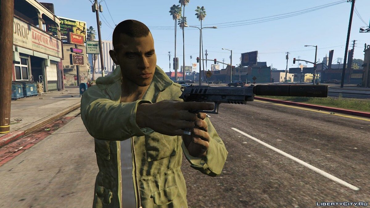 Lincoln Clay from MAFIA III for GTA 5